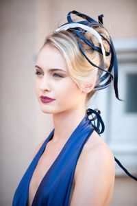 wedding ake up & hair style for haute couture shooting