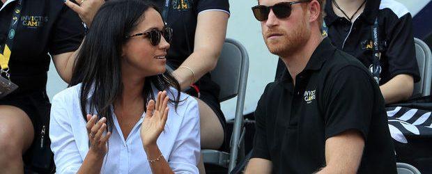 Il principe Harry con la fidanzata Markle agli Invictus Games di Toronto