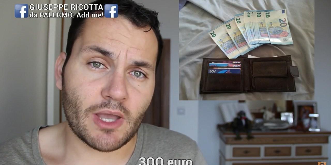 Trova un portafogli con 300 euro: cerca il proprietario su Facebook e diventa famoso