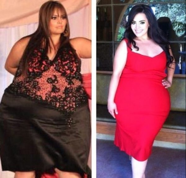 Modella curvy perde 107 kg e riceve minacce di morte: i fan non la riconoscono