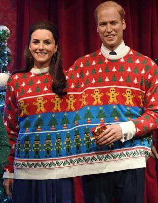 """Kate e William """"accoppiati"""" per Natale"""