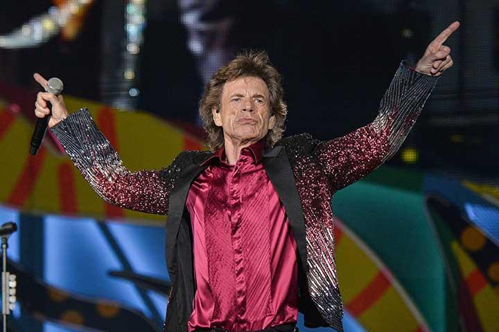 Mick Jagger di nuovo papà: è nato il suo ottavo figlio