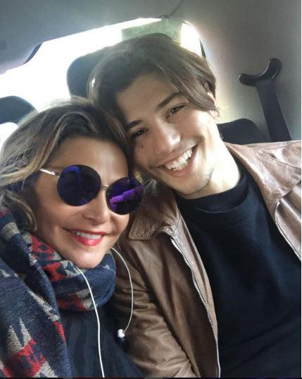 Simona Ventura a Londra da Niccolò: