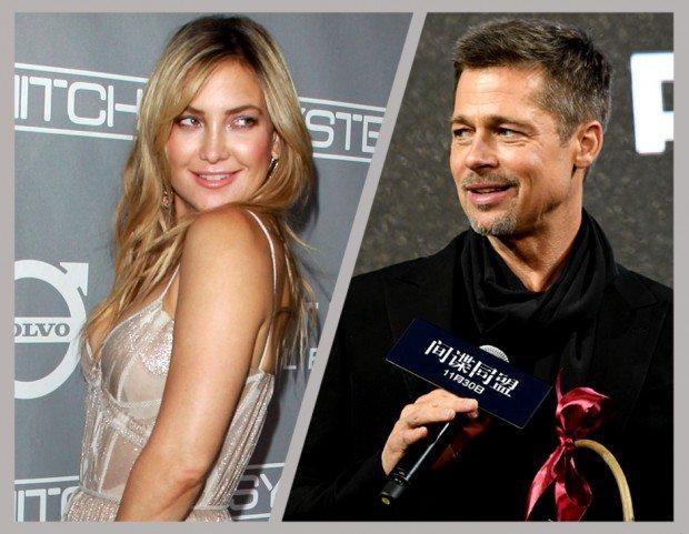 """Brad Pitt e Kate Hudson, storia confermata da un amico: """"Stanno insieme"""""""