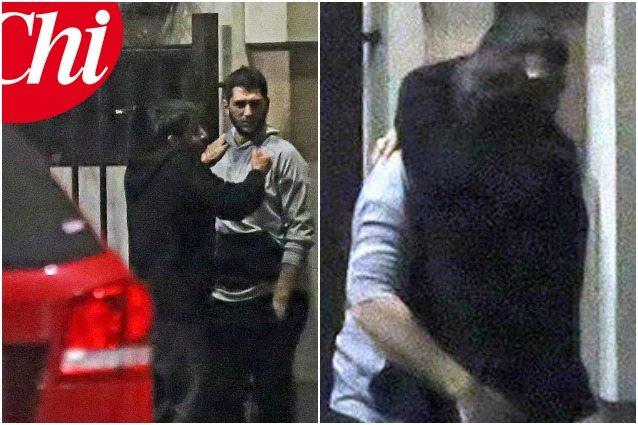 Andrea Iannone, abbraccio col fratello di Belen dopo la lite con la fidanzata