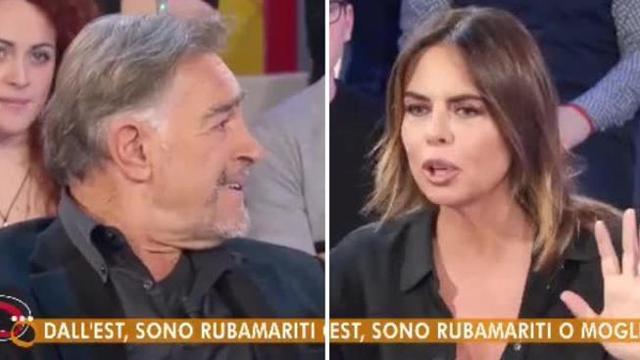 """Gaffe Perego con Fabio Testi: """"Donne dell'est, sei stato con la Ekberg"""". Ma era svedese"""