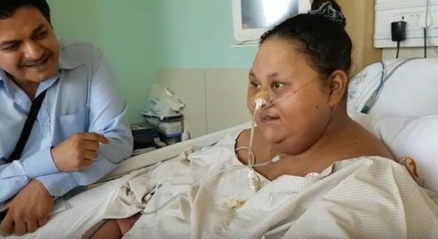 La donna più obesa del mondo perde metà del suo peso: adesso è 250 chilogrammi