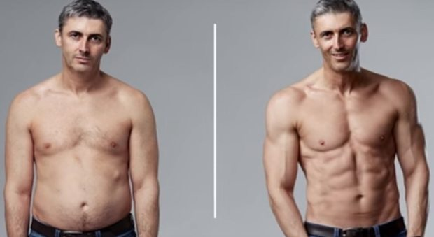 """Dalla ciccia al fisico scolpito in 12 settimane: """"Ecco come ci sono riuscito"""""""