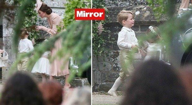 Baby George sgridato da mamma Kate al matrimonio di zia Pippa: ecco cosa ha fatto