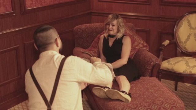 """""""Mi vuoi sposare?"""", alla mostra di Torino la proposta di matrimonio in stile Titanic"""