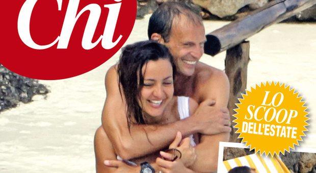 Ambra Angiolini e Massimiliano Allegri, la nuova coppia dell'estate