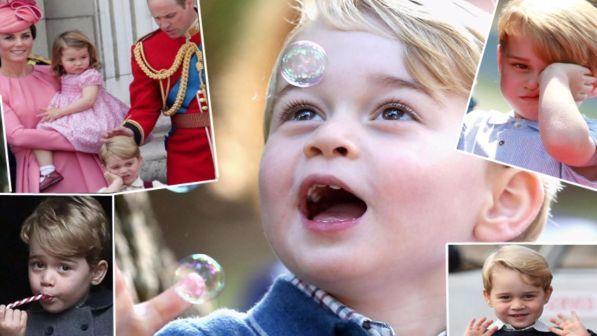 Il principino George compie 4 anni: via ai festeggiamenti