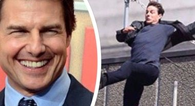 "Tom Cruise sbaglia il salto in ""Mission Impossibile"": incidente sul set"