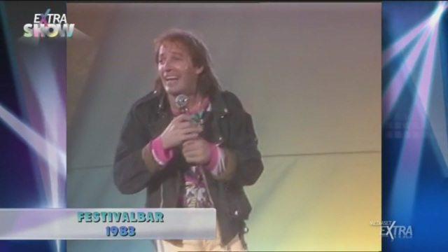 """Festivalbar 1983, l?esibizione di Vasco Rossi con """"Bollicine"""""""