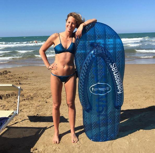 Federica Pellegrini single, in bikini è lei la perla del Gargano
