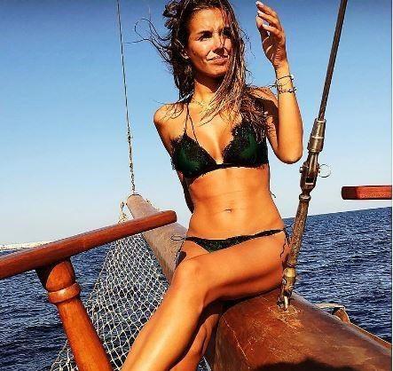 Alessia Reato, sirenetta a prua