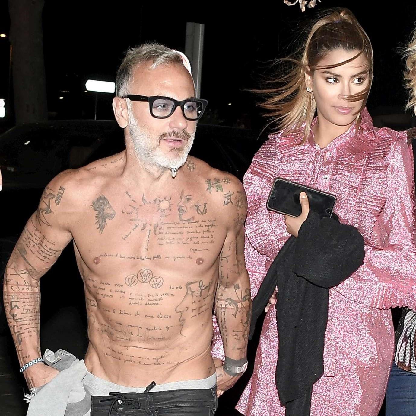 Gianluca Vacchi se la spassa a Saint Tropez con la sexy fidanzata Ariadna Gutierrez