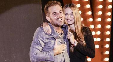 Bossari e la figlia al Gf Vip, le lacrime della Marcuzzi e di Gianni Sperti