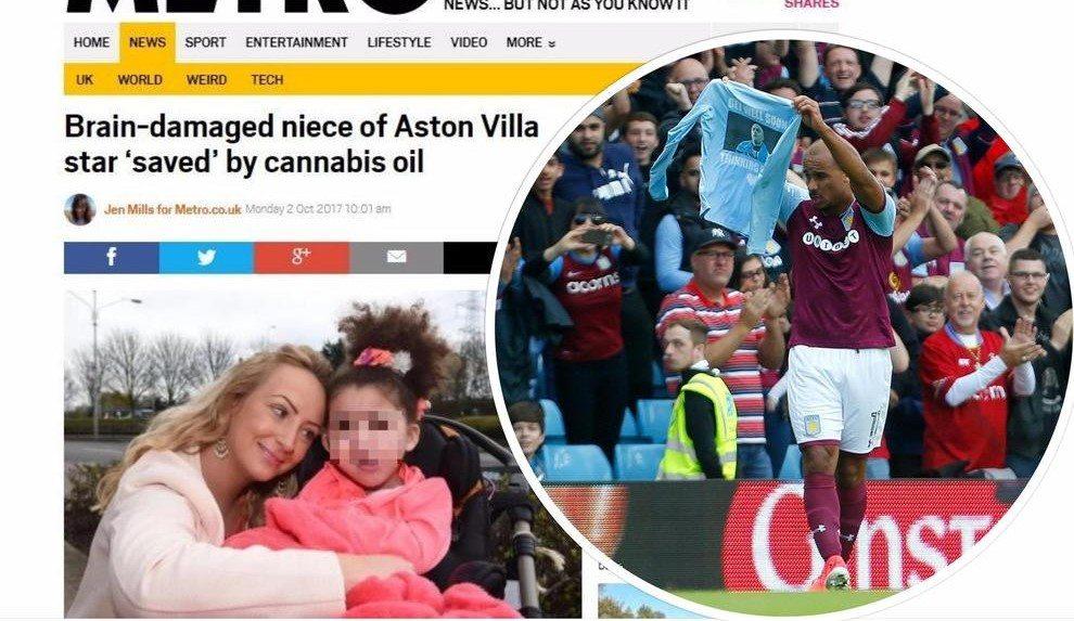 """""""Ha rischiato di morire"""", bimba di 6 anni curata con l'olio di canapa: lo zio è un famoso calciatore"""