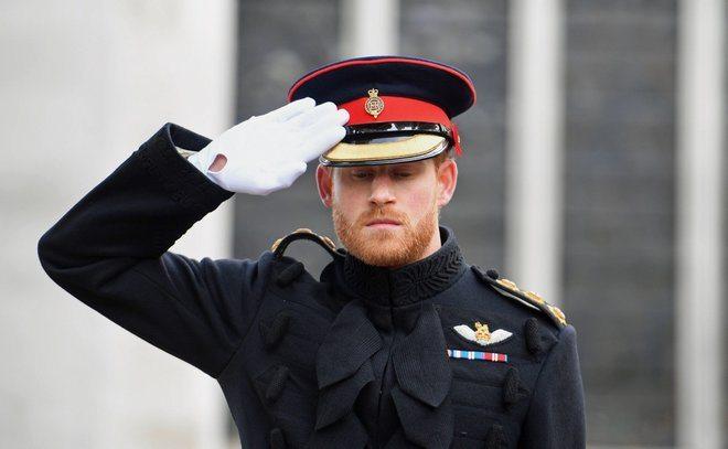 Harry rompe il protocollo dell'esercito, il principe sfila in uniforme con la barba