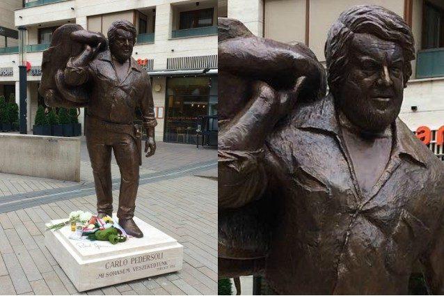 Ungheria, inaugurata a Budapest la statua di Bud Spencer