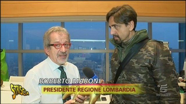 Tapiro a Roberto Maroni per le falle nel piano anti-terrorismo a Milano