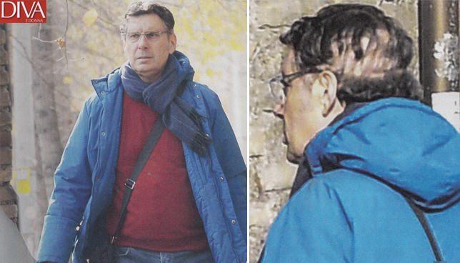Fabrizio Frizzi passeggiata con i segni dell'operazione, pronto a tornare in tv