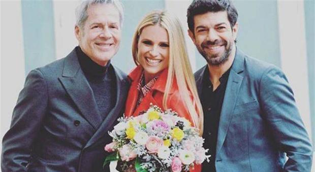 Sanremo, Michelle Hunziker e Pierfrancesco Favino hanno litigato? L'indiscrezione di Signorini