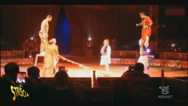 Scherzo a Francesco Totti, gabbato durante una serata al circo