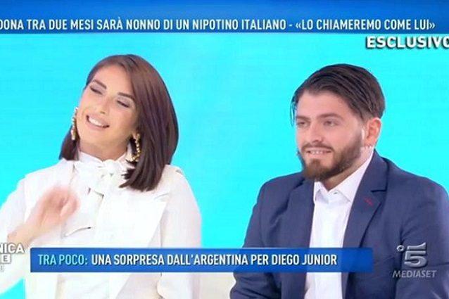 """Diego Armando Maradona Jr: """"Tra due mesi arriverà il piccolo Diego Matias"""""""