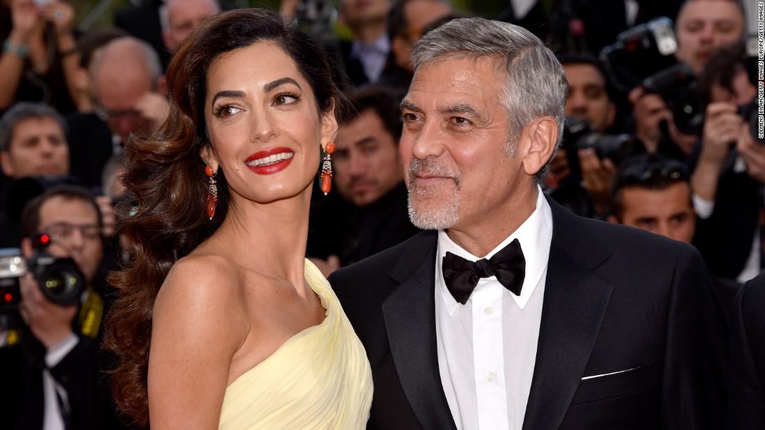 George e Amal Clooney donano 500mila dollari per la marcia contro le armi