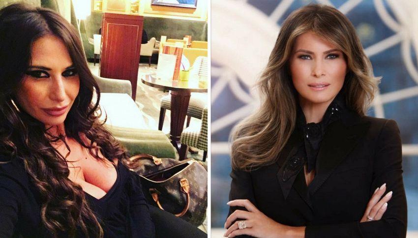 """Sarah Altobello: """"Sono io la sosia ufficiale di Melania Trump"""""""