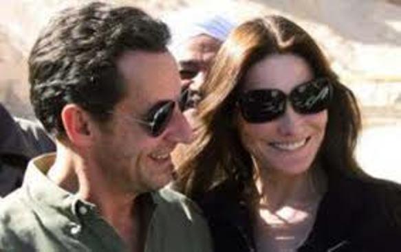 Carla Bruni e la dedica al marito Nicolas Sarkozy: