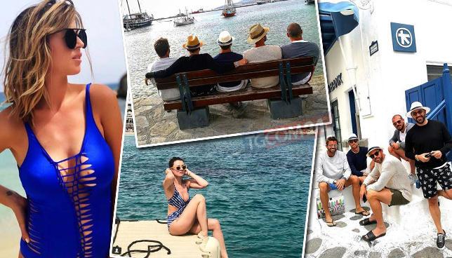 Calciatori in ferie, gli juventini sono a Mykonos