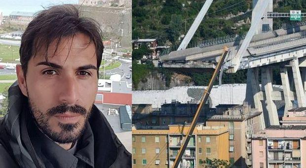 Davide Capello, sbalzato dal Ponte Morandi: «Un volo di 30 metri, non dormo più». Il racconto terribile