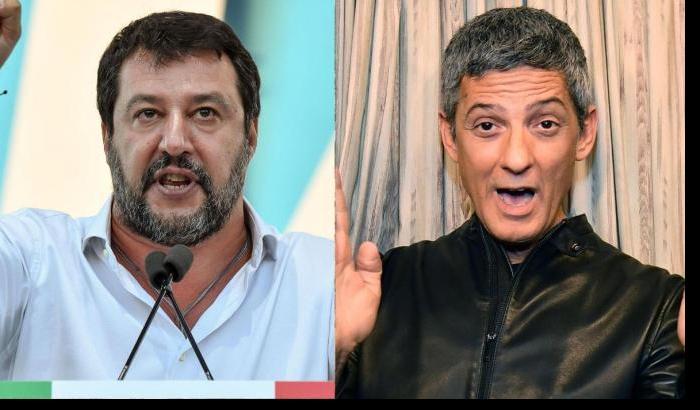 Coronavirus, Fiorello risponde a Salvini: