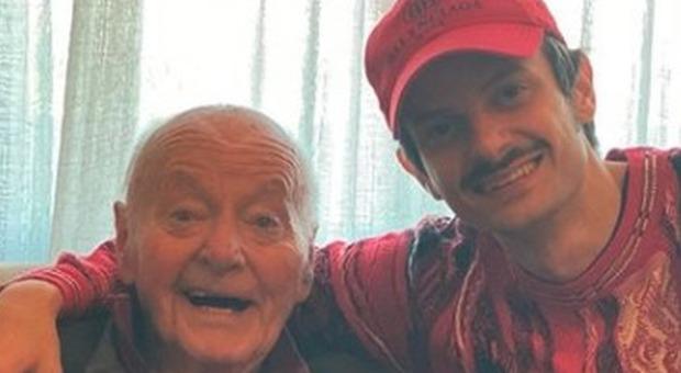 Fabio Rovazzi, il nonno è morto per coronavirus: «Ho sperato l'impossibile»