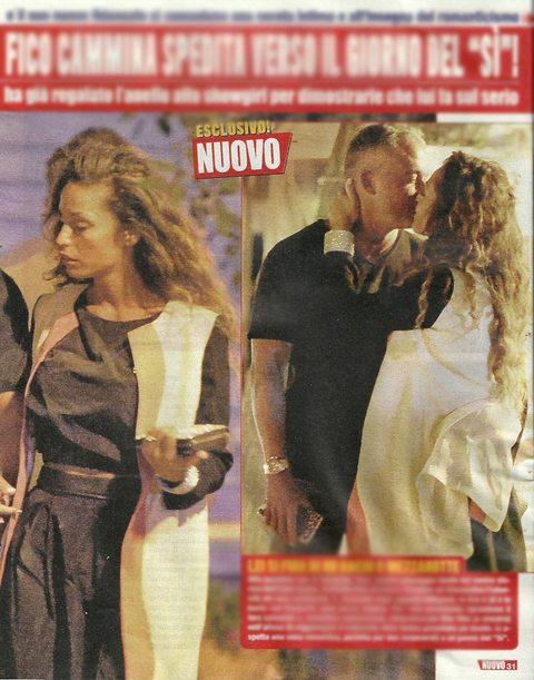 """Raffaella Fico e Alessandro Moggi, fuga a Ponza prima delle nozze: """"Aspetta il divorzio dalla ex"""""""