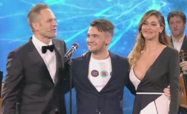 """""""Tu si que Vales"""", vince il cantante Edson D?Alessandro che commuove tutti"""