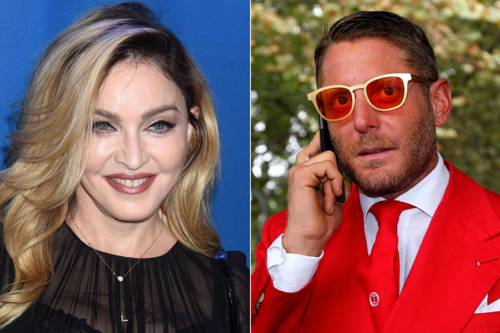 Madonna e Lapo Elkann: battute al vetriolo all'asta di beneficenza