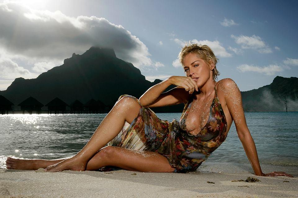 Sharon Stone, se. xy dé. colle. té a sorpresa