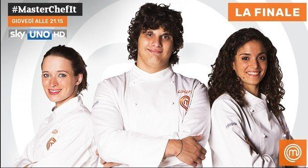 Masterchef italia: Gloria, Valerio e Cristina in finale