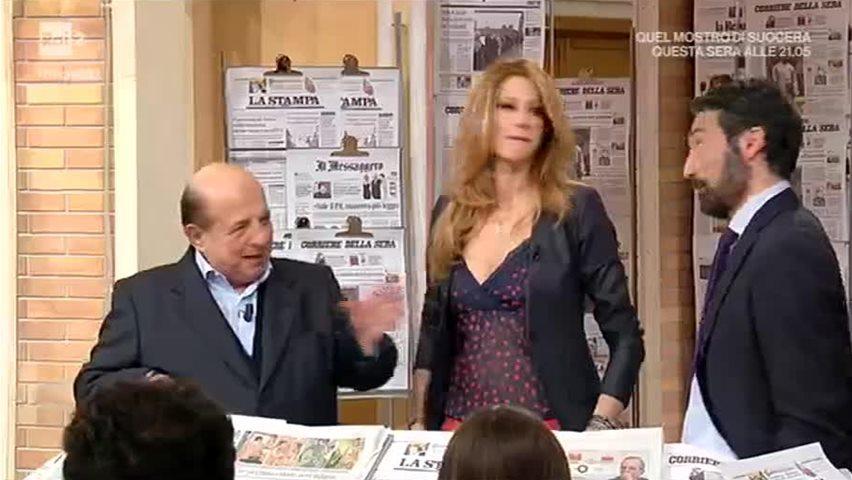 """""""Sei una rompi...."""": Magalli e la lite in diretta tv con Adriana Volpe"""