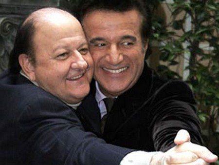 """Massimo Boldi scrive a De Sica: """"Mi manchi, vorrei lavorare ancora con te"""""""