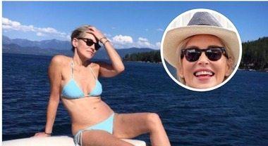 Sharon Stone, bikini da urlo su Instagram: sexy e in forma a 59 anni