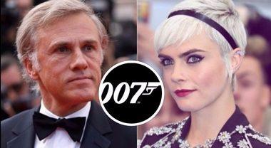 James Bond: i bookmaker scelgono Cara Delevingne come 'Bond girl', per il cattivo si punta su Christoph Waltz