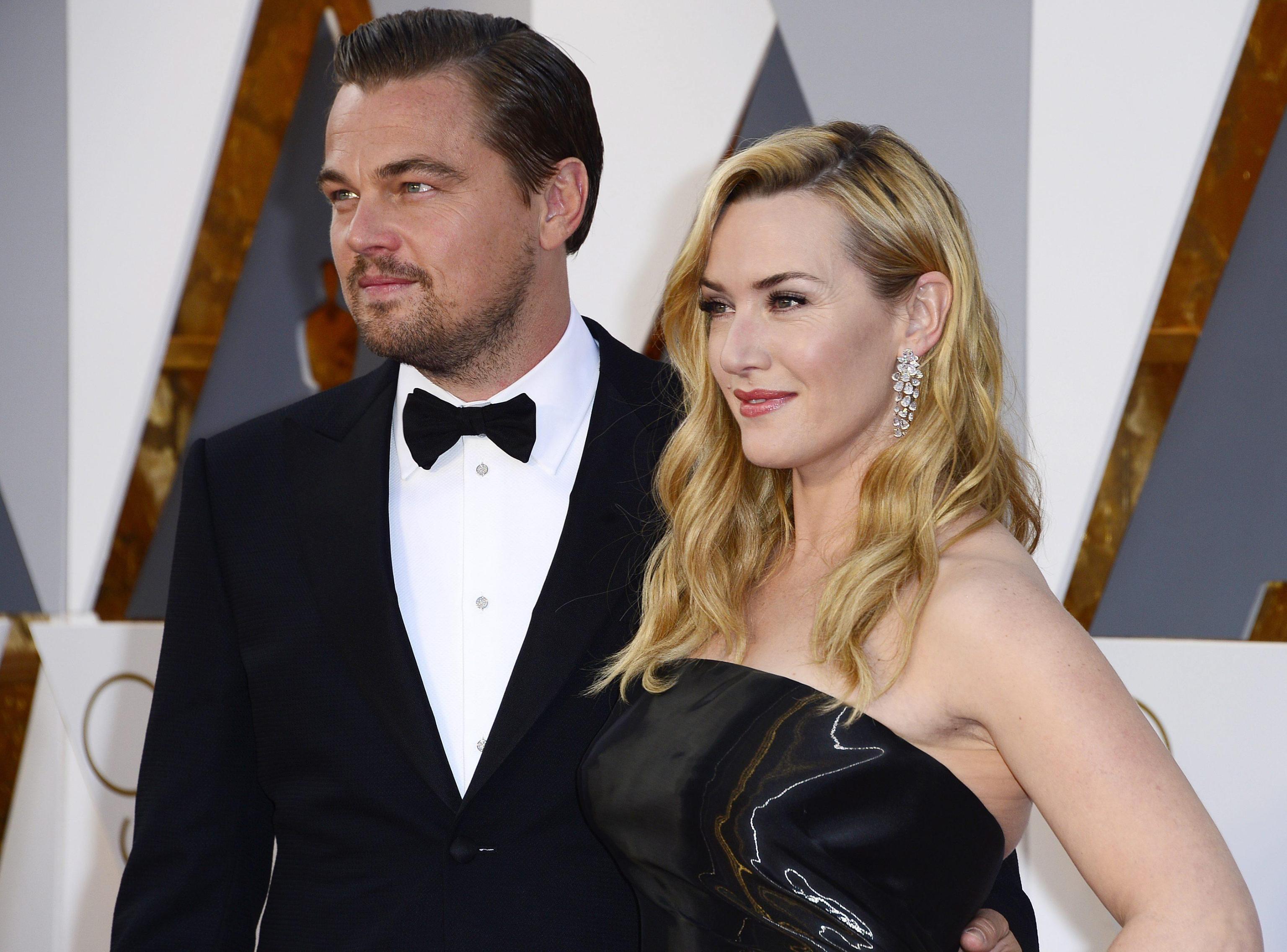 """Leonardo DiCaprio e Kate Winslet, asta benefica per una cena con la coppia di """"Titanic"""""""