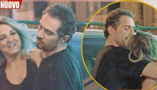 Claudio Santamaria, adesso c?è il bacio con Francesca Barra