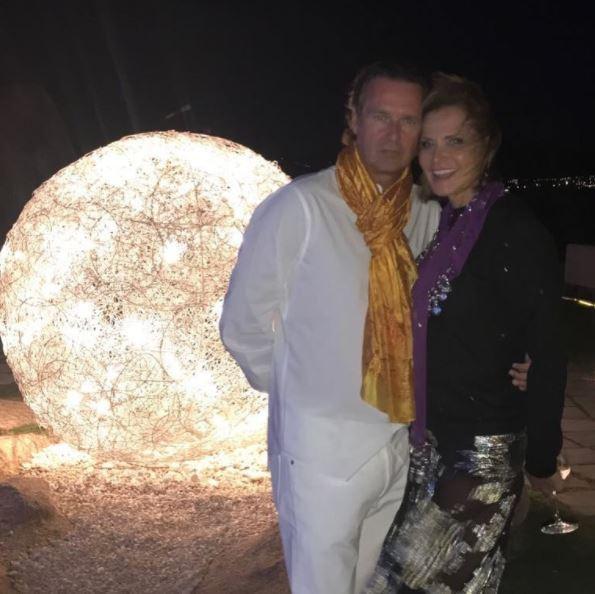 Simona Ventura e Gerò Carraro, prove di riavvicinamento