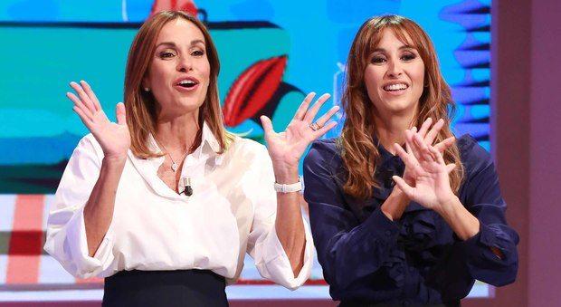 """""""Cristina e Benedetta Parodi a Domenica In deprimenti"""". Del Noce all'attacco di Rai1"""